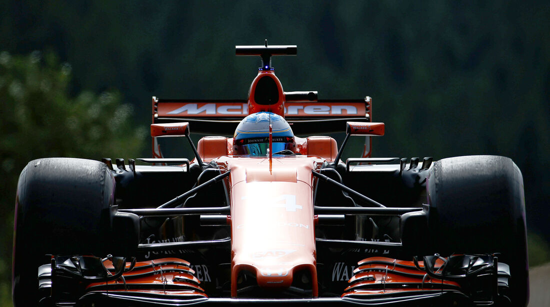 Fernando Alonso - McLaren - GP Belgien - Spa-Francorchamps - Formel 1 - 25. August 2017