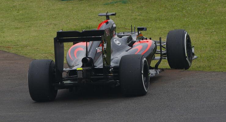 Fernando Alonso - McLaren - GP Brasilien 2015