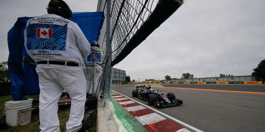 Fernando Alonso - McLaren - GP Kanada 2016 - Montreal - Qualifying