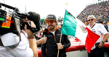Fernando Alonso - McLaren - GP Mexiko 2018