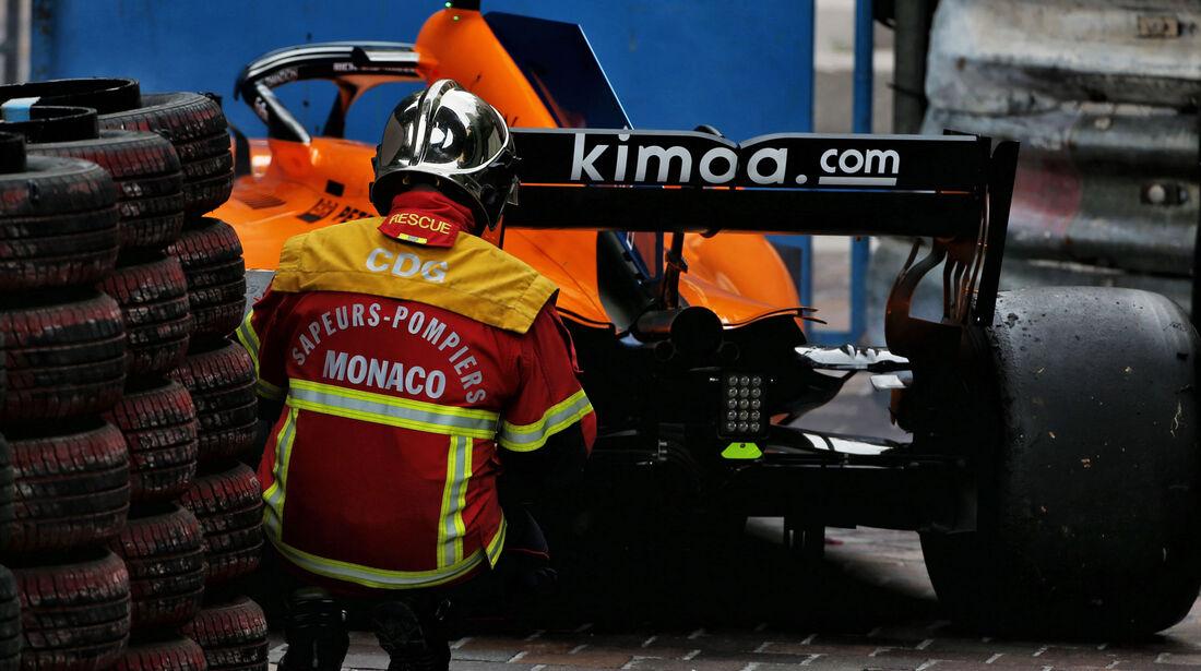 Fernando Alonso - McLaren - GP Monaco 2018 - Rennen