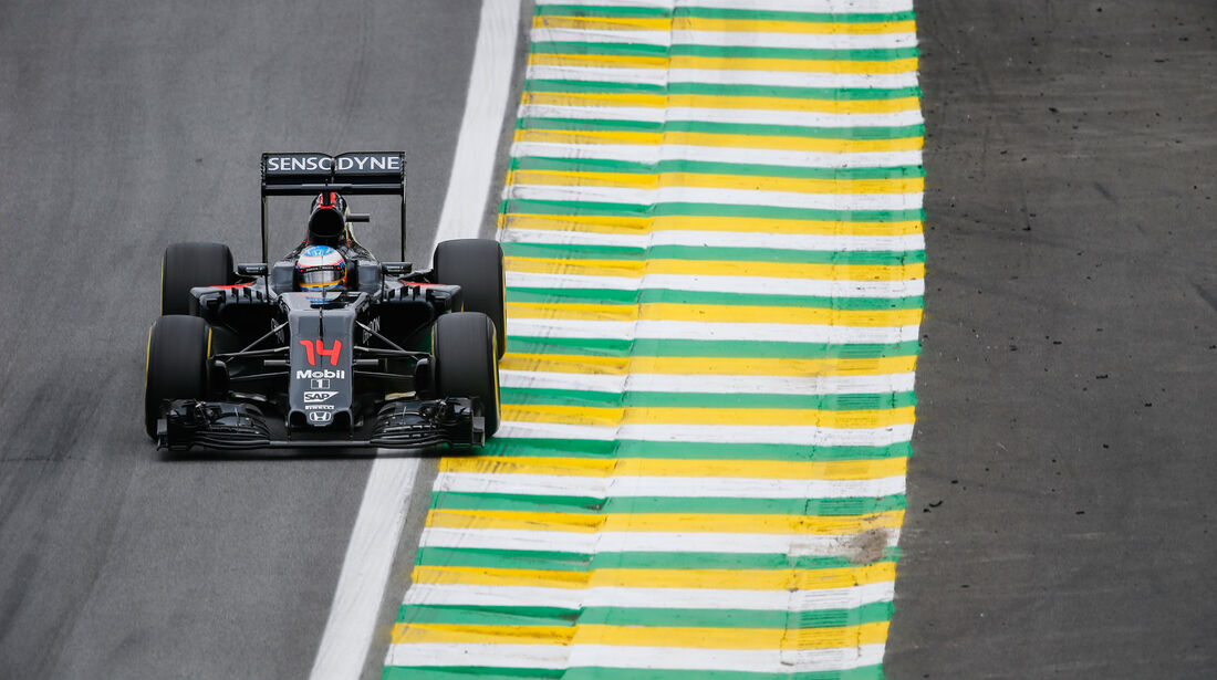 Fernando Alonso - McLaren-Honda - GP Brasilien 2016 - Interlagos - Qualifying