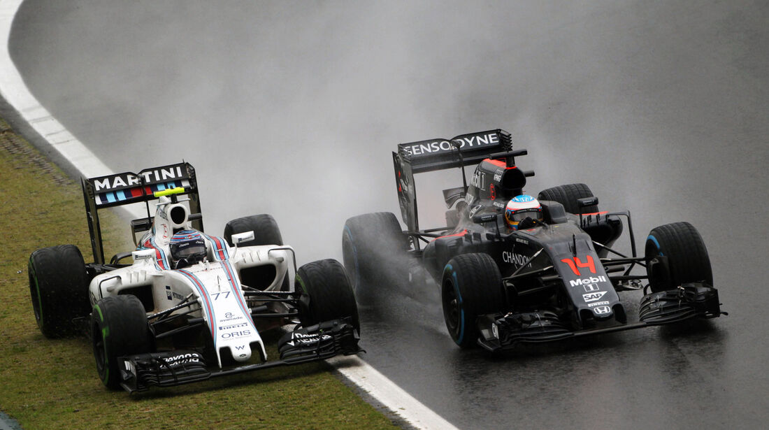 Fernando Alonso - McLaren-Honda - GP Brasilien 2016 - Interlagos - Rennen