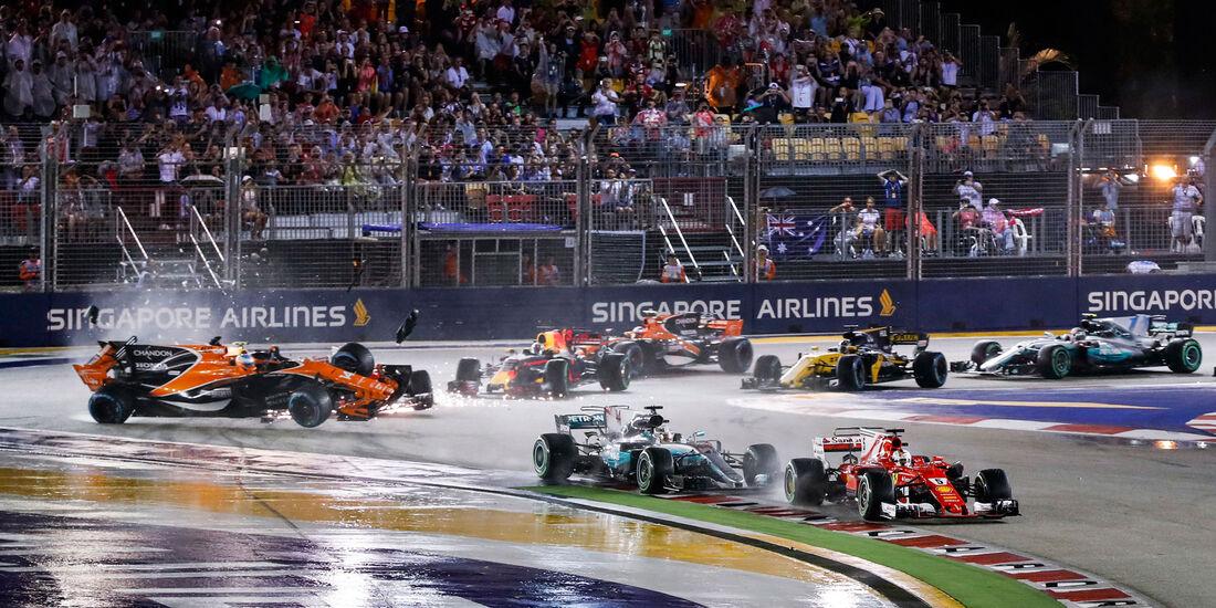 Fernando Alonso - McLaren-Honda - GP Singapur 2017 - Rennen