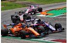 Fernando Alonso - McLaren - Pierre Gasly - Toro Rosso - Formel 1 - GP Italien - 02. September 2018