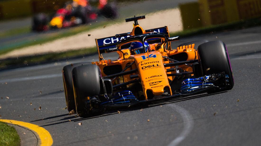 Fernando Alonso - McLaren - Qualifying - GP Australien 2018 - Melbourne