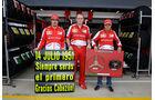 Fernando Alonso - Stefano Domenicali - Felipe Massa  - Formel 1 - GP England - 30. Juni 2013