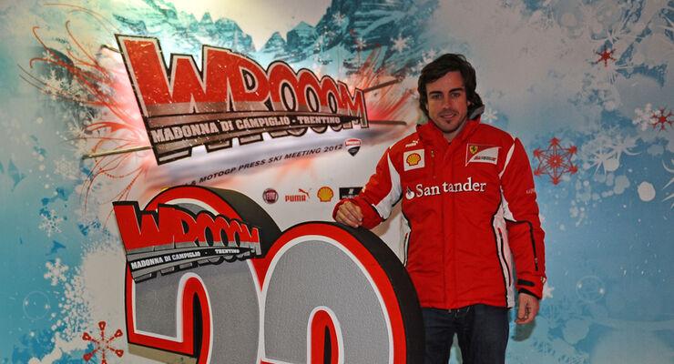 Fernando Alonso Wroom 2012 Ferrari