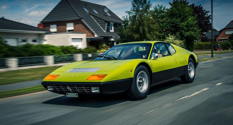 Ferrari-365-BB-V12-Grün-Einzelstück