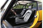 Ferrari 365 GTB/4, Cockpit, Fahrersitz
