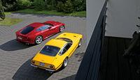 Ferrari 365 GTB/4, Ferrari F12 Berlinetta, Draufsicht