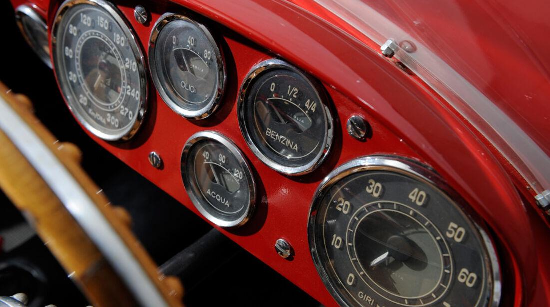 Ferrari 375 MM Spider, Detail, Anzeigeinstrumente