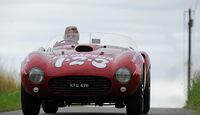 Ferrari 375 MM Spider, Front, Ausfahrt