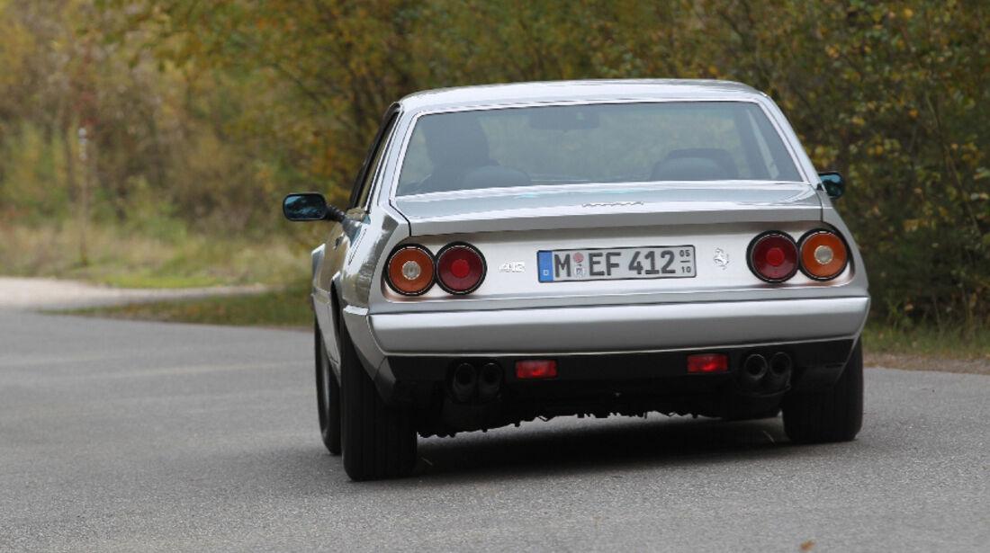 Ferrari 412, 1988, Heck