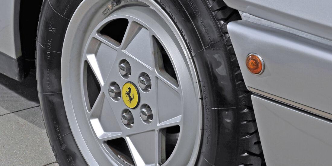 Ferrari 412, Rad, Felge