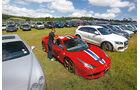 Ferrari 458 Speciale, Frontansicht, Parken