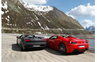 Ferrari 458 Spider, Lamborghini Gallardo Spyder Performante, Heckansicht