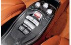 Ferrari 458 Spider, Mittelkonsole