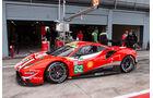 Ferrari 488 GTE - 24h Le Mans 2018 - Scrutineering