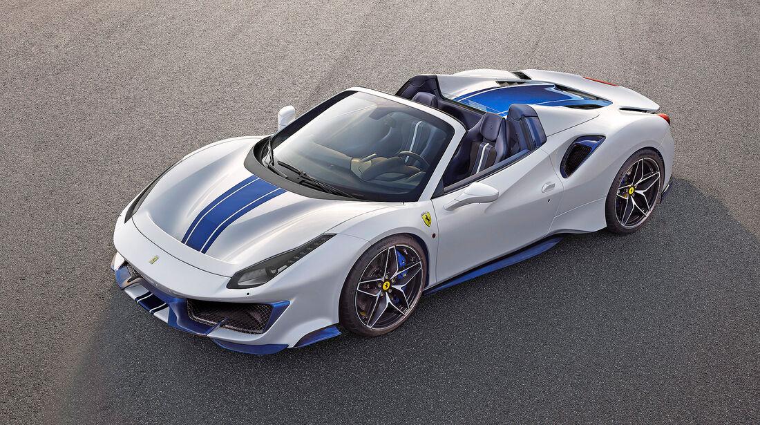 Ferrari 488 Pista Spider - Serie - Cabrios ueber 150000 Euro - sport auto Award 2019