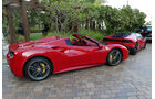 Ferrari 488 Spider - Carspotting - GP Abu Dhabi 2016
