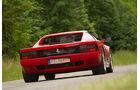 Ferrari 512 TR, Heckansicht