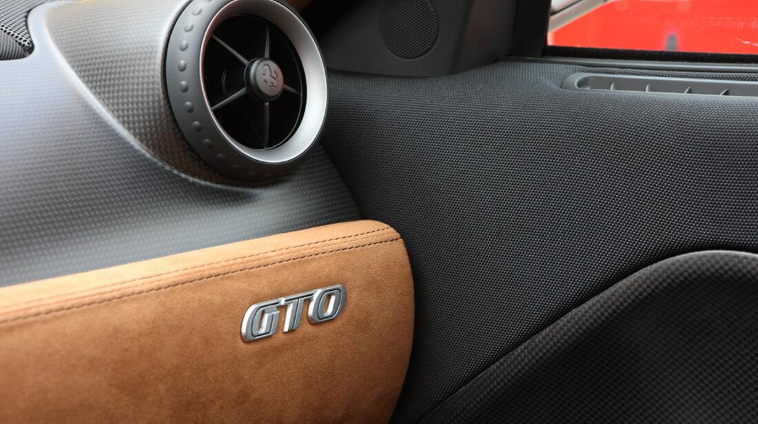 Ferrari 599 GTO Lüftung-Innenraum GTO-Schriftzug