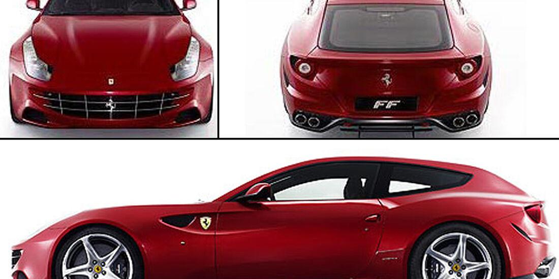 Ferrari 612 Scaglietti Erlkönig