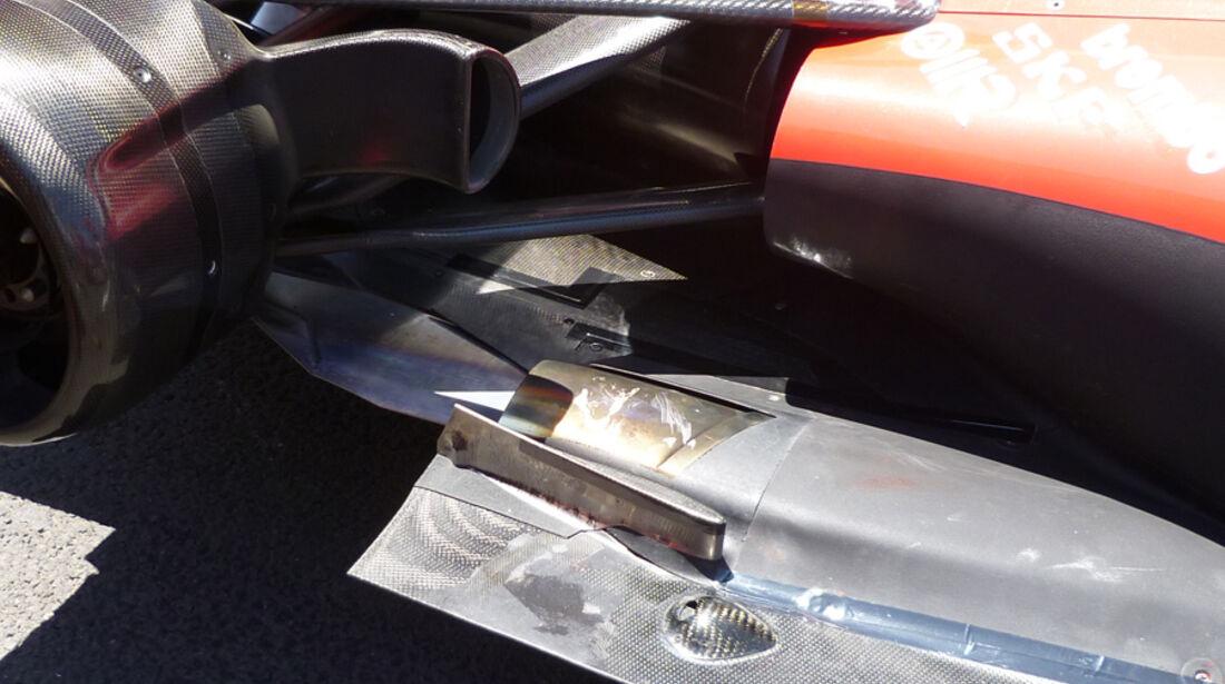 Ferrari Auspuff GP Europa 2011