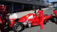 Ferrari Auspuff Jerez Test 2012