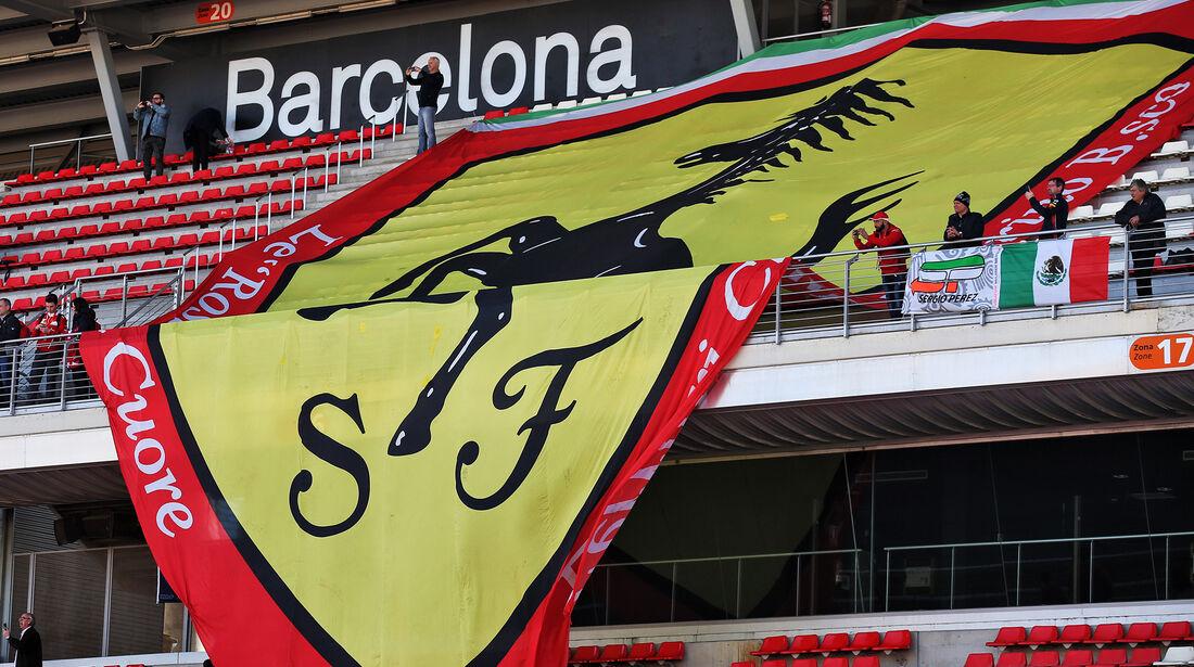 Ferrari - Barcelona - F1-Test - 27. Februar 2019