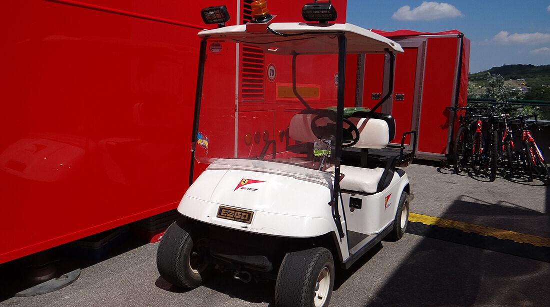 Ferrari-Cart - Formel 1 - GP Ungarn - 26. Juli 2013