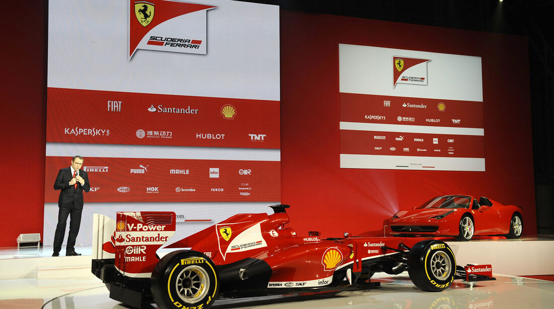 Ferrari F138 F1 2013