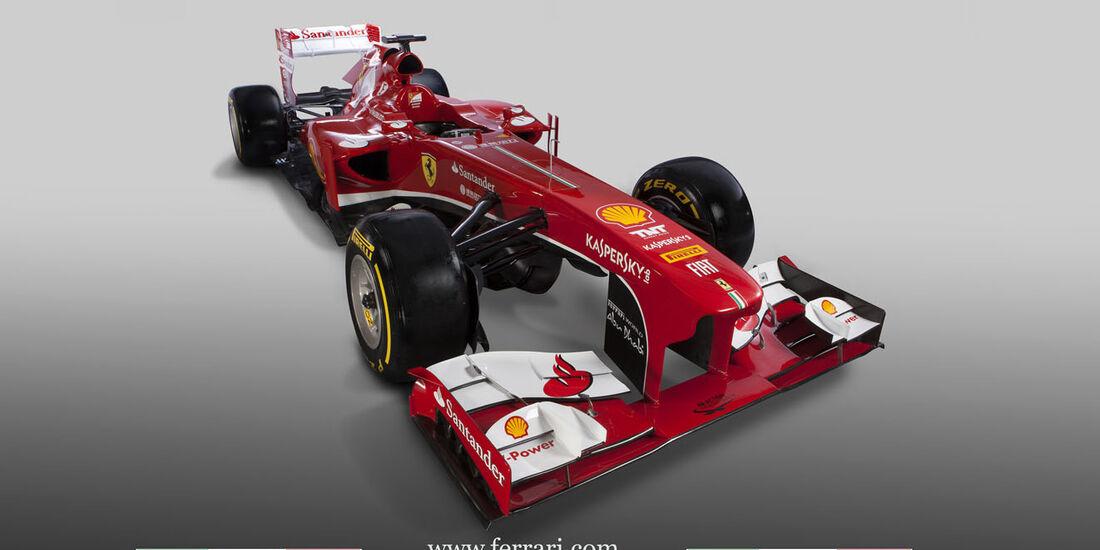 Ferrari F138 Formel 1 2013