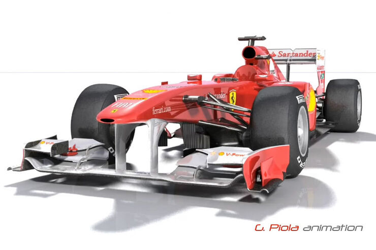 Ferrari F150 3D-Animation