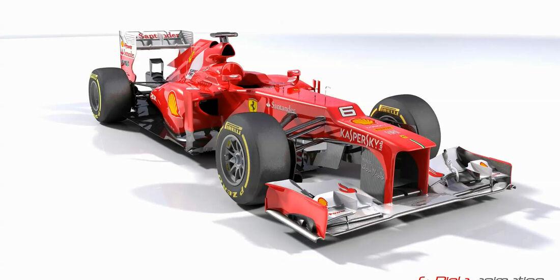 Ferrari F2012 - Valencia/Silverstone Update