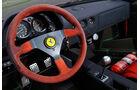 Ferrari F40, Cockpit, Lenkrad