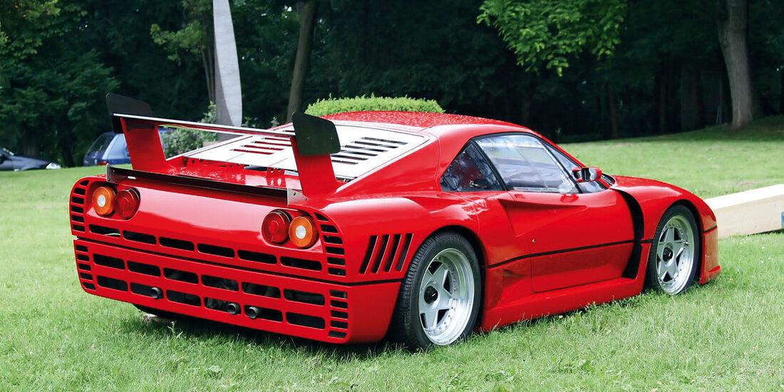 Ferrari F40, Heck