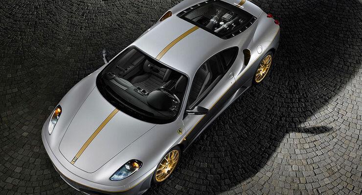 Ferrari F430 Sondermodell, Versteigerung für Erdbebenopfer, Abruzzen