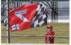 Ferrari Fan - Formel 1 - GP England - 14. Juli 2017