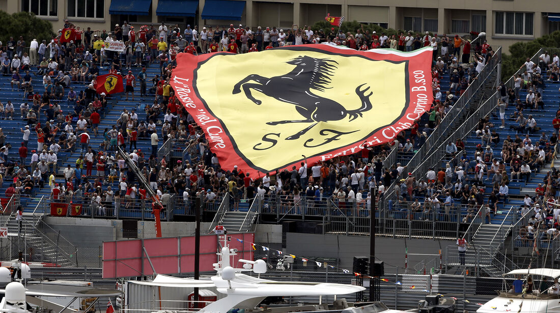 Ferrari-Fans - GP Monaco - Formel 1 - 25. Mai 2017