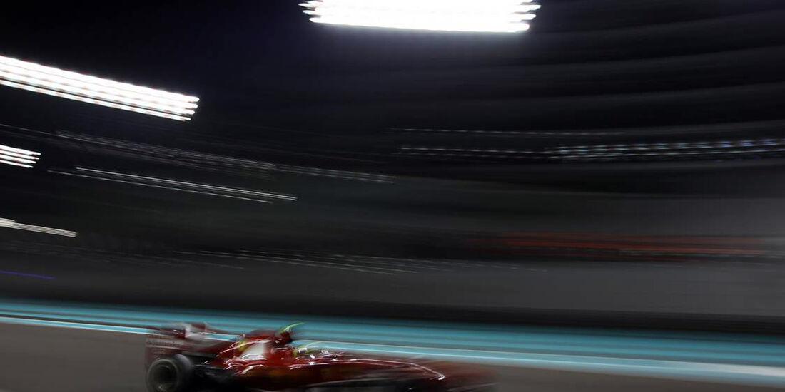 Ferrari - Formel 1 - GP Abu Dhabi - 01. November 2013