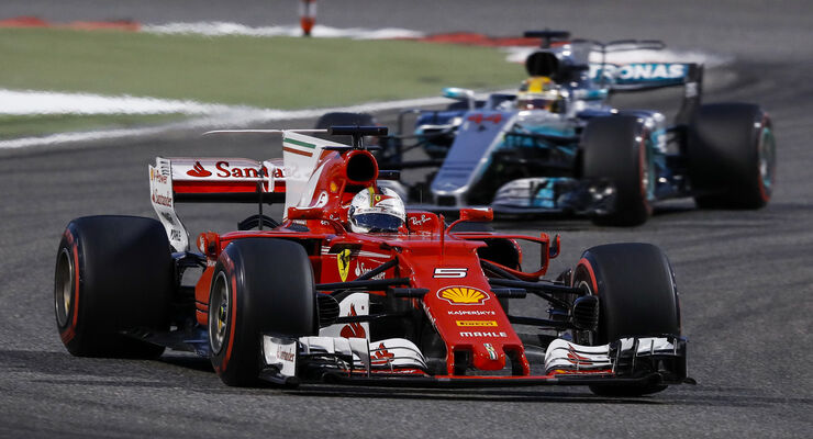 Ferrari - Formel 1 - GP Bahrain 2017