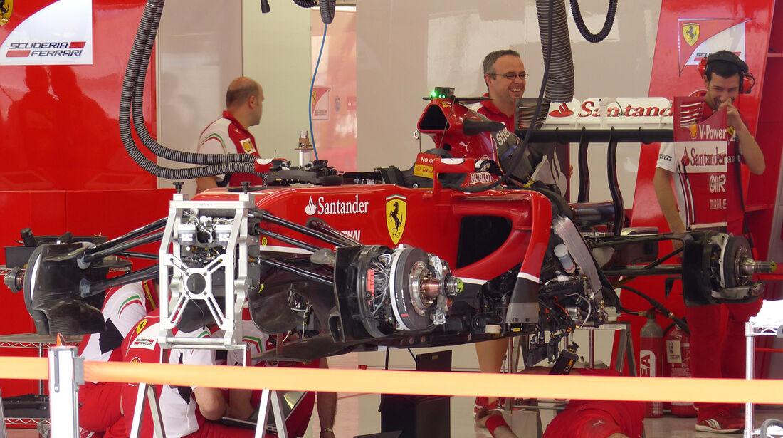 Ferrari - Formel 1 - GP Bahrain - Sakhir - 3. April 2014