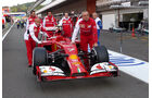 Ferrari - Formel 1 - GP Belgien - Spa-Francorchamps - 22. August 2014