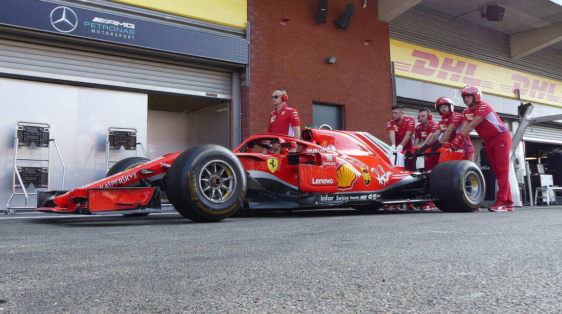 Ferrari - Formel 1 - GP Belgien - Spa-Francorchamps - 23. August 2018