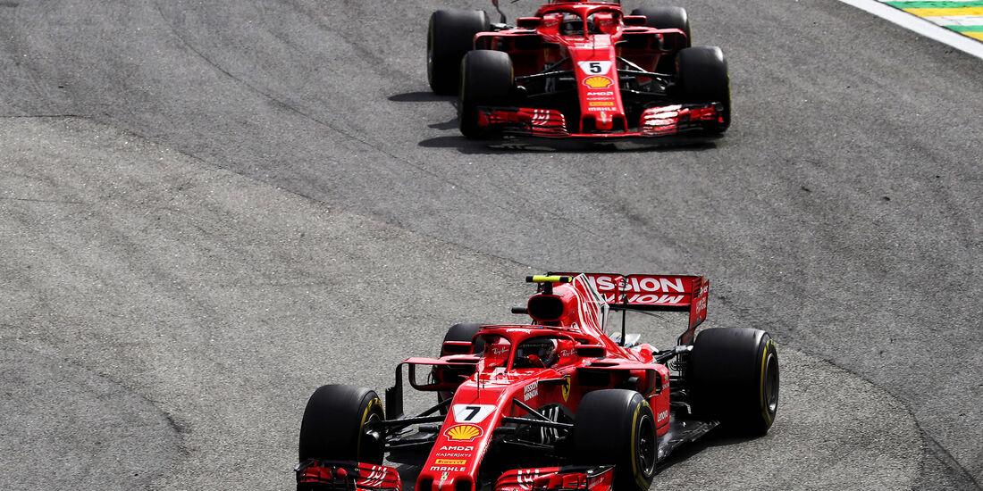 Ferrari - Formel 1 - GP Brasilien 2018