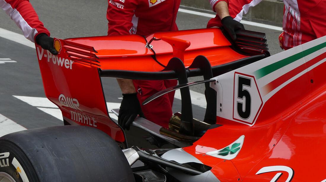 Ferrari - Formel 1 - GP China - Shanghai - 13. April 2017