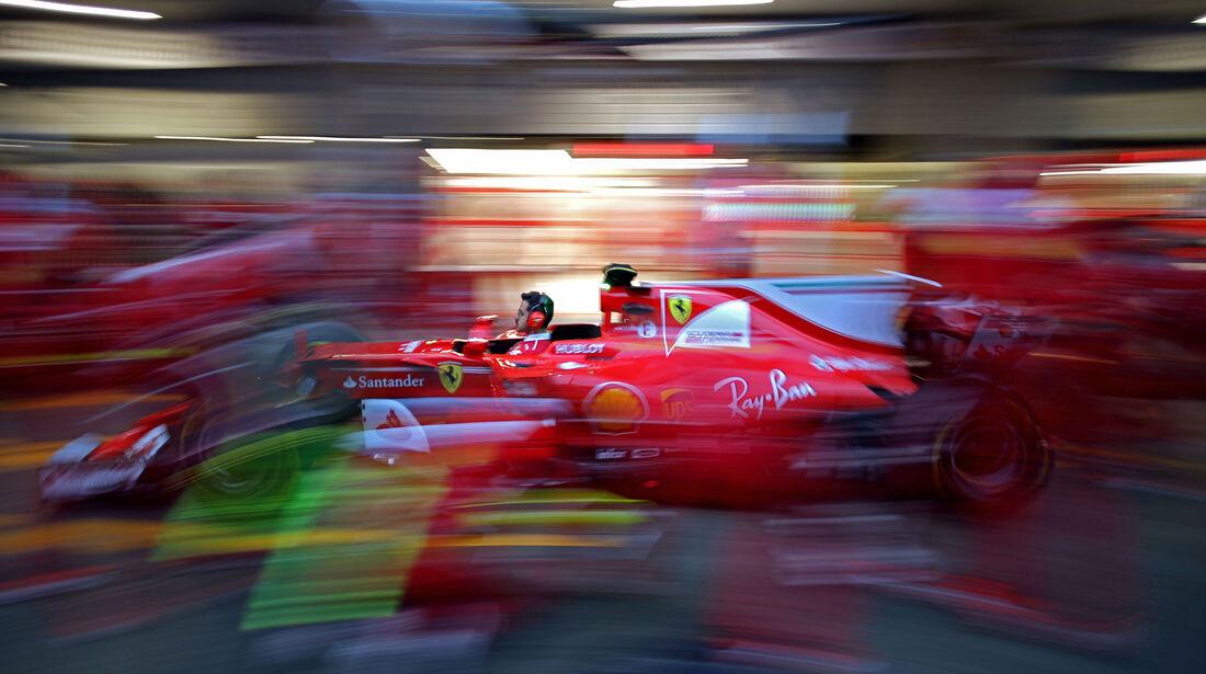 Ferrari - Formel 1 - GP China - Shanghai - 6.4.2017