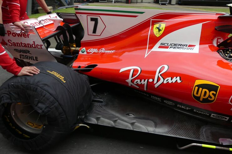 Ferrari - Formel 1 - GP England - 14. Juli 2017